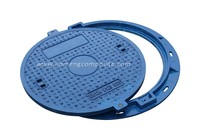 fuel station composite manhole cover round casting manhole cover for wholesales