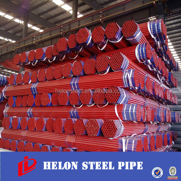 erw steel pipe indian red tube for wholesale