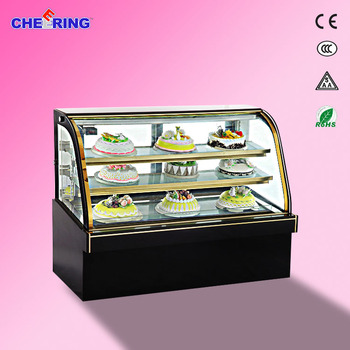 1500*780*1180 MM bakery showcase CE approval cake display counter