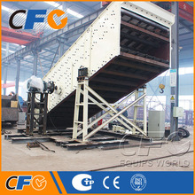 Hot Sale Abrasive Sand Vibrating Screen Seive Machine Equipped with Polyurethane Screen