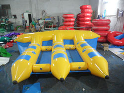 cheap inflatable boat/inflatable boat for sale/inflatable water games flyfish banana boat