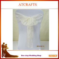 wholesale wedding lace chair cover sashes