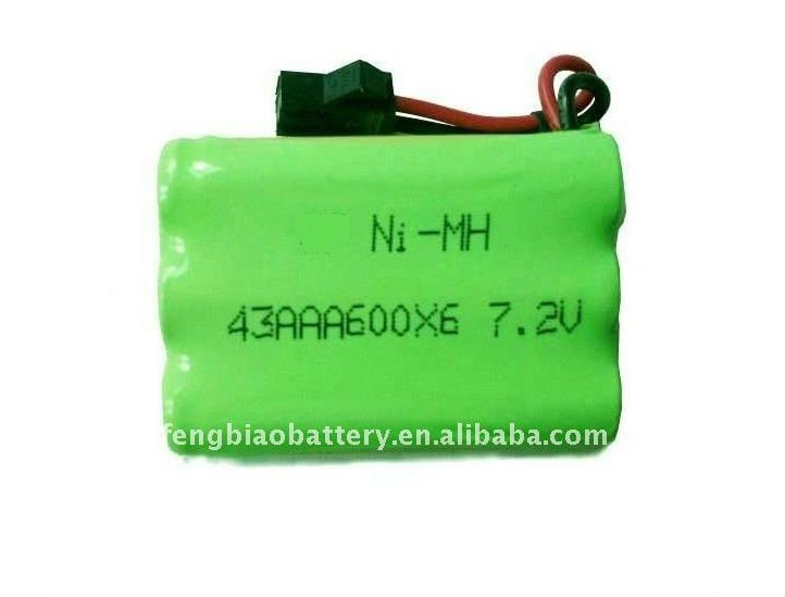 NI-MH rechargeable battery pack 600mAh AAA