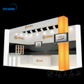 Acrylic popular exhibition display booth for trade fairs