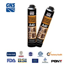 polyurethane foaming mold 500ml pu foam sealant