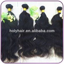 wholesale grade 5a unprocessed 100% virgin brazilian natural wave rely hair