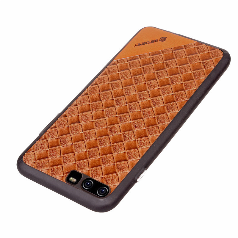 Hot Selling Wholesale Factory Price Braided Pattern Ultra TPU Soft Mobile Phone Back Cover Cases for Huawei P10