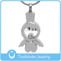 Truthkobo Doll pendant Necklace Stainless Steel For Wholesale TKB-P1823