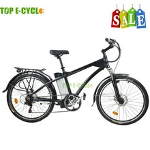 TOP bicycle 36V250W Lithium battery operated electric mountain bike