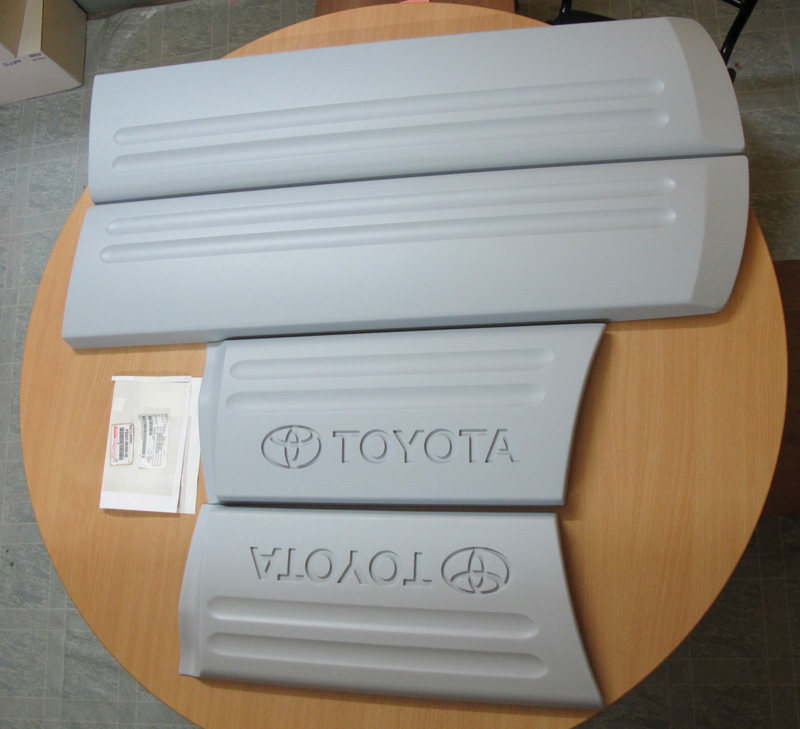Side cladding for Fortuner