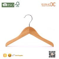 Eisho Small Size Top Wood Kids Hanger
