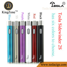 Promotion!!!Factory wholesale vape pen Tesla Sidewinder 2s adjustable voltage vaporizer pen at low price