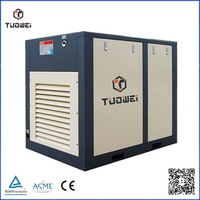 75 hp rotary screw industrial electric motor driven 55 kw screw air compressor