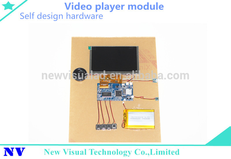 tft lcd 4inch video bypass module dvd player