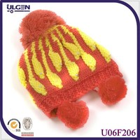 Custom-made Funny Animal Winter Baby Hat Knitting Pattern Baby Animals Costume