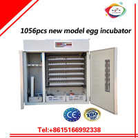 1056pcs large egg incubator and poultry egg incubation machine for sale