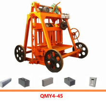 Mobile Manual Fly Ash Interlock Brick Block Making Machine Made In China