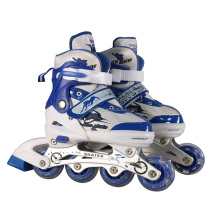 hot sale led light up wheel roller skate roller blades with led light wheels