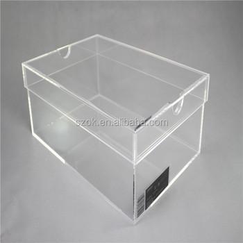 Plexiglass Shoe Box