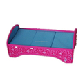 Easy Assemble Toy Doll Bed Girl Doll Accessories Toy Doll Bed
