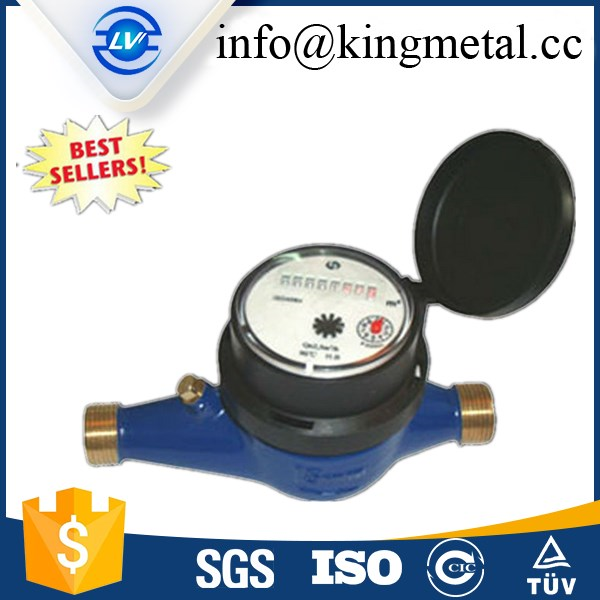 multi jet dry type water meter ningbo china class B with best price