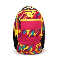 Camouflage fabrics backpack girl school bag
