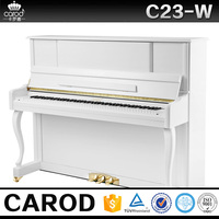 hot sale music instruments piano prices,piano white bench, piano cover from china factory