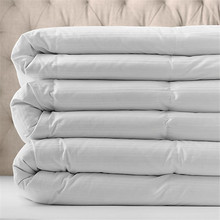 Luxury White Goose Down Comforter Made From 100 Percent Pure Cotton