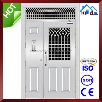 QD-SS118 Entrance Anti- theft Villa Main Stainless Steel Front Door