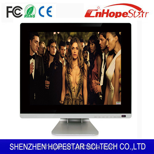 15 17 inch white color APPL Design LED Monitor/computer tv monitor