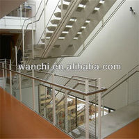 SS rope mesh for indoor wire mesh railing designs /aviary netting