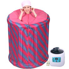 Family portable steam sauna cabinet