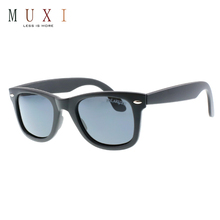 Competitive price black frame wide temple men's and women's polarized small lens sunglasses