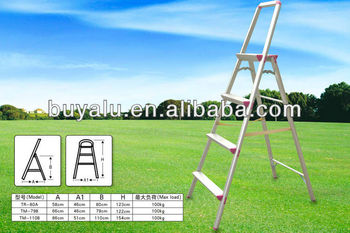 aluminum collapsible ladder