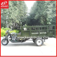 Popular Army Green Color KV200ZH-B Zongshen Cargo Tricycle Powerful Boosting Rear Axle