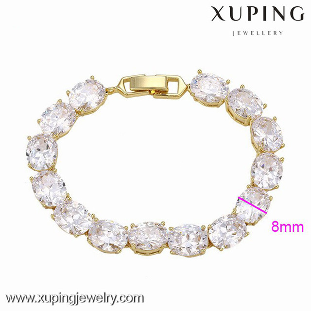 73797 Xuping Jewelery 2017 women's fashion charm bracelet jewelry