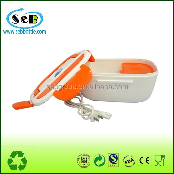2016 Hot selling electronic lunch box/electric heating lunch container to keep warmer