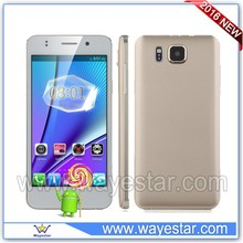 2016 Chino New arrival 5.5inch Android 5.1 mobile telefone celular