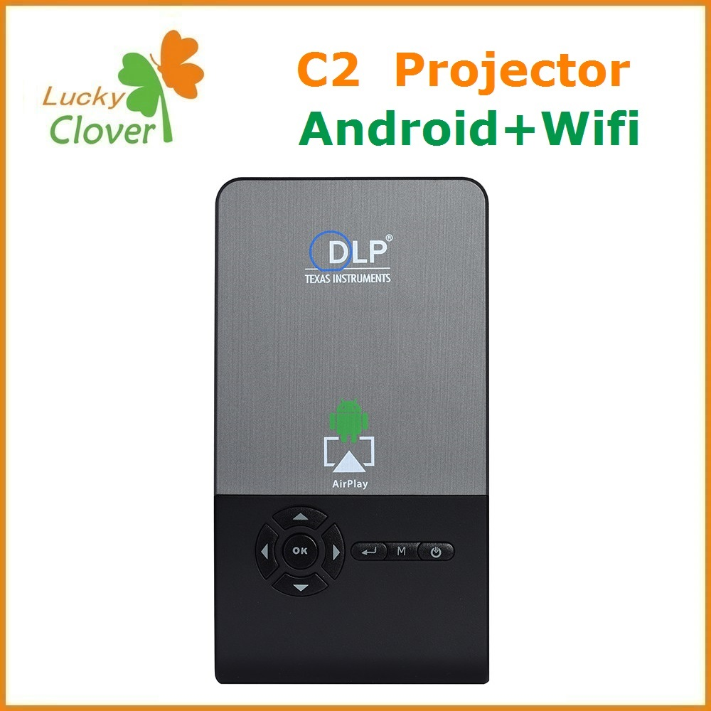 Low cost android 3D projector cheap beamer mini projector in stock