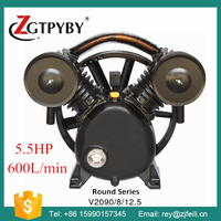 head for air compressor exported to 58 countries 4KW cast iron air compressor head china
