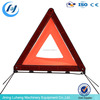 Good price plastic ABS red color reflective Car Warning Triangle with metal leg traffic warn triangle