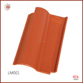 Newly Excellent insulation performance Glazed metal roof tile