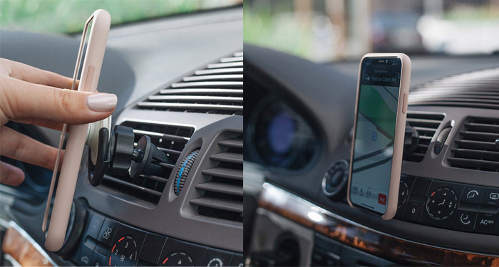 Acessórios do telefone Do Smartphone Universal Car Air Vent Mount Holder Telefone Para Pop Car Mount