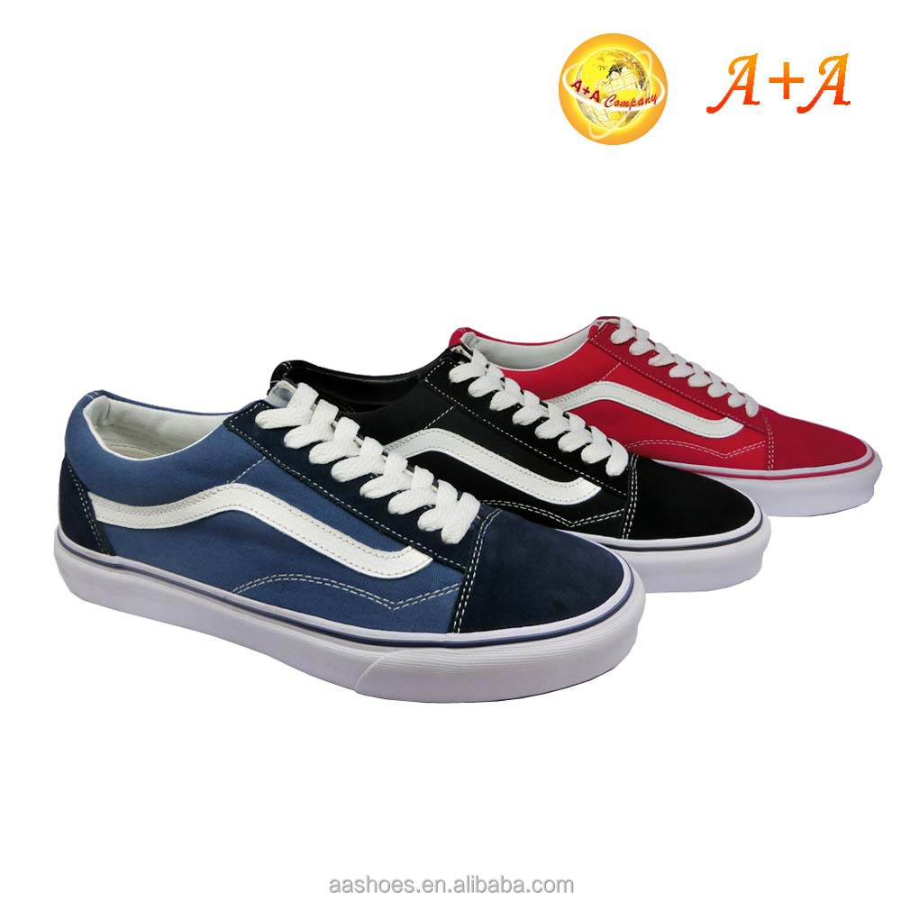 cheap branded breathable men casual canvas shoes