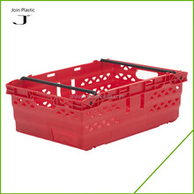agriculture plastic crate stackable and nestable large plastic crates for fruit