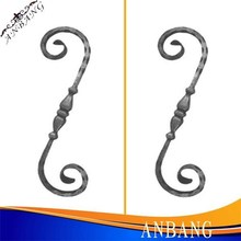 Good Quality Wrought Iron Scrolls, Hot Selling, All Size Available, Powder Coated