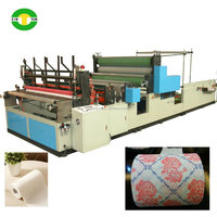 High performance gluing and printing kitchen paper tissue machinery