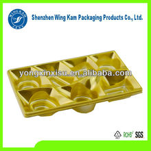 Sugar blister tray/plastic chocolate tray packaging