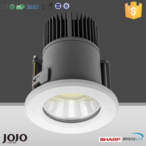 AC90-264V Hotel 15W 20W 30W 40W 50W IP66 cob recessed downlight led