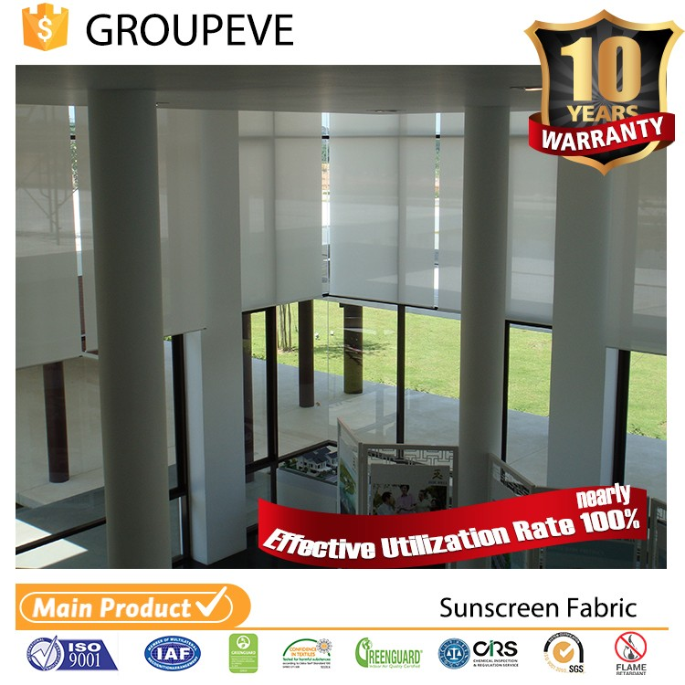 2017 Hot Sale Beautiful Color Solar Blind For Building